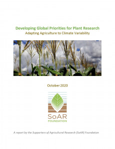 Developing Global Priorities for Plant Research: Adapting Agriculture to Climate Variability