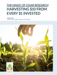 Key Findings - Magic of CGIAR Research: Harvesting $10 from every $1 Invested